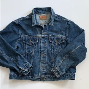 VTG Levi's Jean Jacket Made In USA sz 50
